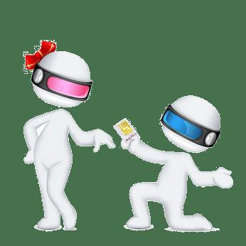 demande en mariage carte