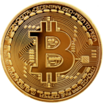 pièce de bitcoin