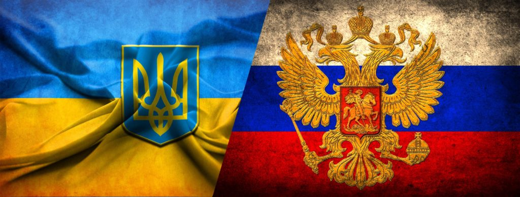 ukraine russie flag